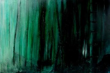 Night's Scent Acrylics on canvas, 200x120cm